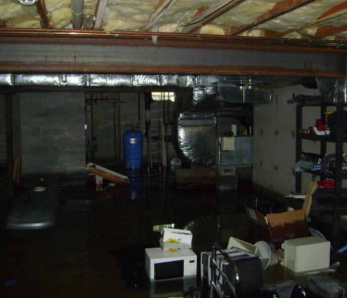 Flooded Room  Before